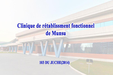 Clinique de rétablissment fonctionnel de Munsu